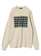 CHARI&CO × BEAMS T / 別注 Check Long Sleeve Tee