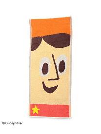 Pixar Collection Pixar Collection/フェイスタオル ウッディ アントレスクエア ファッショングッズ ハンカチ/タオル ブラウン
