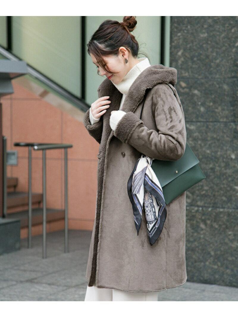 ROSSO エコムートンフードコート アーバンリサーチロッソ コート/ジャケット【送料無料】