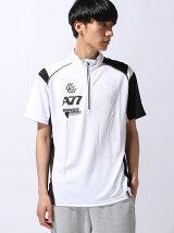 asics アシックス《A77 ハーフジップシャツ》