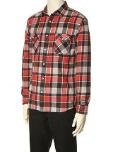 PLAID LINE SHIRT