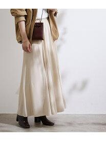 【SALE/40%OFF】ADAM ET ROPE' パネルフレアスカート アダムエロペ スカート スカートその他 ホワイト パープル【送料無料】