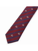 ロイヤルネイビーの紋章をアレンジしたトラディショナルなネクタイ