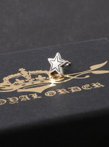 (U)Small outlined star stud