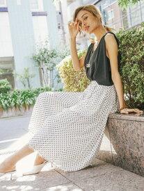 【SALE/30%OFF】Million Carats ドットプリーツパンツ[DRESS/ドレス] ミリオンカラッツ パンツ/ジーンズ【RBA_S】【RBA_E】【送料無料】