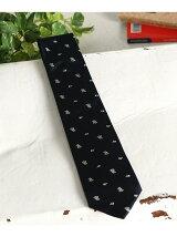 Silk Motlf Tie
