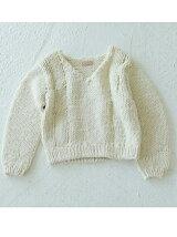 Vneck Hand Knit