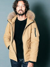 CTN/NY TWILL THISULATE MILITARY HOOD JACKET