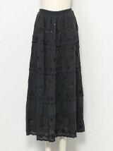まばゆいマキシスカート