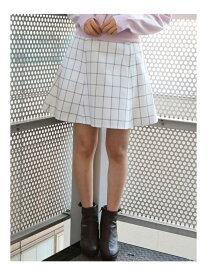 【SALE/83%OFF】dazzlin バックルフレアミニスカート ダズリン スカート フレアスカート ホワイト ブラック ピンク ベージュ