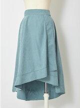 スロープヘムラップスカート