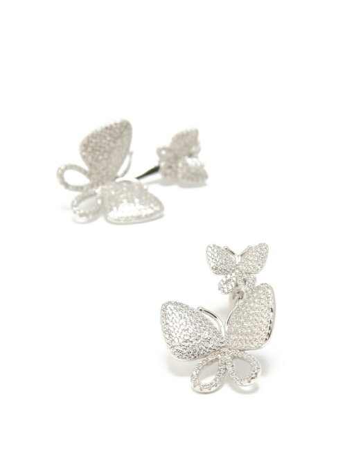FASHIONABLY SILVER WONDERFLYピアス