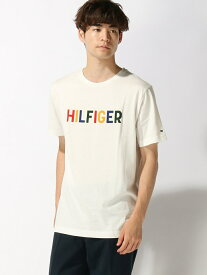 【SALE/30%OFF】TOMMY HILFIGER TOMMY HILFIGER(トミーヒルフィガー) マルチカラーロゴTシャツ ロゴ Tee カットソー 半袖 Tシャツ メンズ トミーヒルフィガー カットソー【RBA_S】【RBA_E】【送料無料】