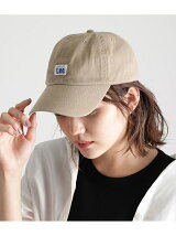【Lee】 COTTON TWILL LOW CAP