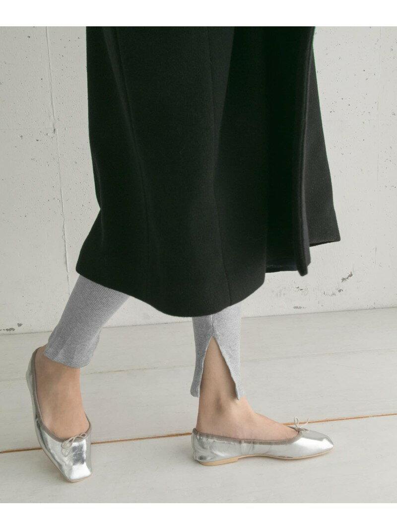 【SALE/50%OFF】SMELLY スリットリブレギンス スメリー ファッショングッズ【RBA_S】【RBA_E】