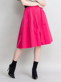 【SALE/60%OFF】LANVIN en Bleu サテンタックスカート ランバンオンブルー スカート スカートその他 ピンク【送料無料】