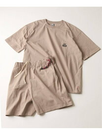 JOURNAL STANDARD <予約>【CHUMS By JOURNAL STANDARD】別注 HURRICANE WALKERS セットアップ ジャーナル スタンダード カットソー Tシャツ ブラック【送料無料】