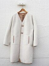 Cocoon Boa Coat