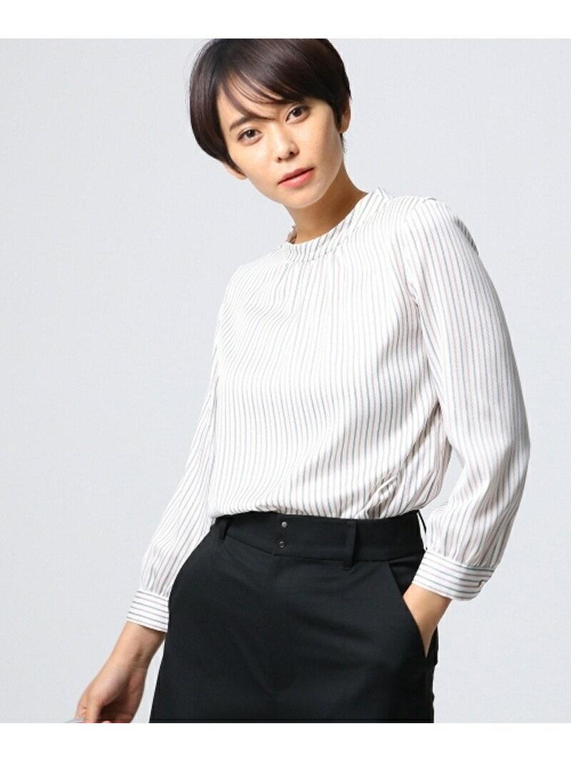 UNTITLED ステッチストライプシャツ アンタイトル シャツ/ブラウス【送料無料】