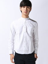 (M)17SSオックスバンドカラーシャツ