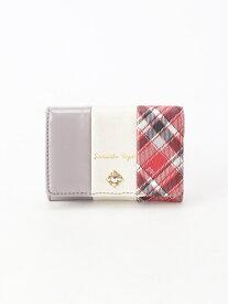 Samantha Vega chalette カードケース サマンサ ベガ 財布/小物 パスケース/カードケース グレー ピンク ブラウン ブラック【送料無料】