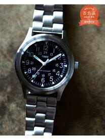 BEAMS MEN TIMEX * BEAMS / 別注 CAMPER STAINLESS STEEL 3針ウォッチ ビームス メン ファッショングッズ 腕時計 シルバー【送料無料】