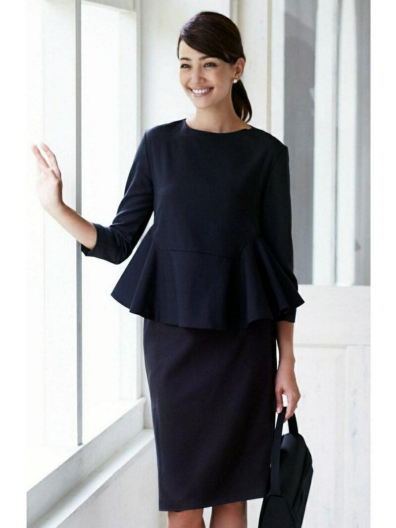 【SALE/39%OFF】Dress Lab Dress Lab/ペプラムフォーマルセットアップ クリーム ビジネス/フォーマル【RBA_S】【RBA_E】【送料無料】