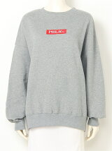 RED BAR SWEAT TOP