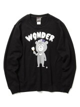 【SPECIAL PRICE】The Wonderful! design works. / PAINTER ベア クルーネック スウェット