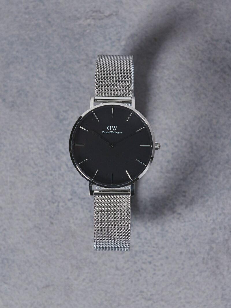 【SALE/40%OFF】<Daniel Wellington(ダニエル ウェリントン)>PETITE BLACK 腕時計32mm† ユナイテッドアローズ ファッショングッズ【RBA_S】【RBA_E】【送料無料】