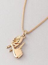 (M)ハンドモチーフゴールドネックレス