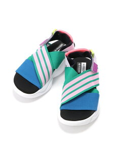【SALE/40%OFF】adidas Originals (U)MAGMUR SANDAL W アディダス シューズ サンダル/ミュール グリーン ブラック ホワイト【送料無料】