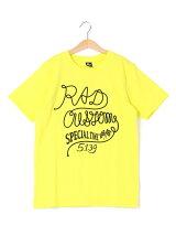 天竺ロープ刺繍半袖Tシャツ
