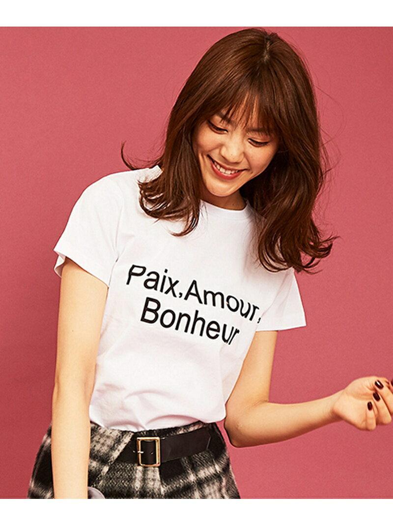 【SALE/20%OFF】Paix,Amour,Bonheur Tシャツ トランテアン ソン ドゥ モード カットソー【RBA_S】【RBA_E】