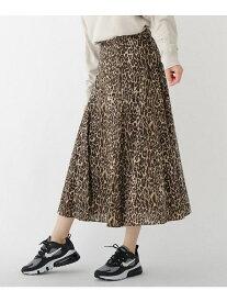 DRESSTERIOR レオパードプリントスカート ドレステリア スカート ロングスカート【送料無料】