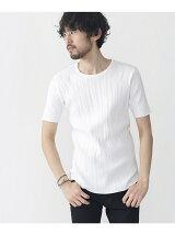 ハリヌキラウンドTシャツ 5S