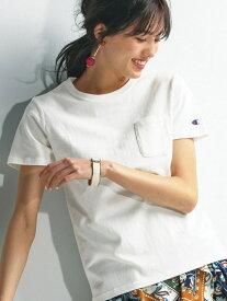Ranan 〈Champion〉ポケットTシャツ ラナン カットソー Tシャツ ホワイト ブラック グレー