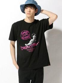 【SALE/30%OFF】DOUBLE STEAL BALLOON Girl TEE ダブルスティール カットソー Tシャツ ブラック ホワイト