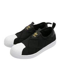 adidas Originals スーパースタースリッポン [SST SLIP ON W] アディダスオリジナルス アディダス シューズ スニーカー/スリッポン ブラック ホワイト【送料無料】