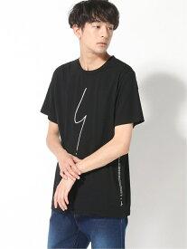 agnes b. HOMME HOMME/(M)SE30 TS ポワンディロニーTシャツ アニエスベー カットソー Tシャツ ブラック ホワイト【送料無料】