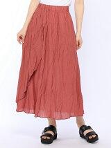 ANAP楊柳バイアスカットロングスカート