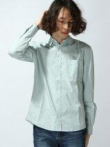 ブロード製品染めシャツ
