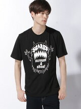 【BROWNY】(M)モンスターモチーフTシャツ
