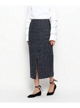 ウールツイードタイトスカート
