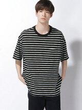 (M)スラブBIGポケTシャツ