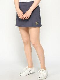 【SALE/30%OFF】le coq GOLF (W)スカート ルコックゴルフ スカート 台形スカート/コクーンスカート グレー ブラック ホワイト【送料無料】
