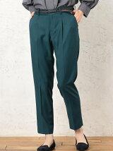 [洗濯可能] ◆CR TR タック ベルトツキ パンツ