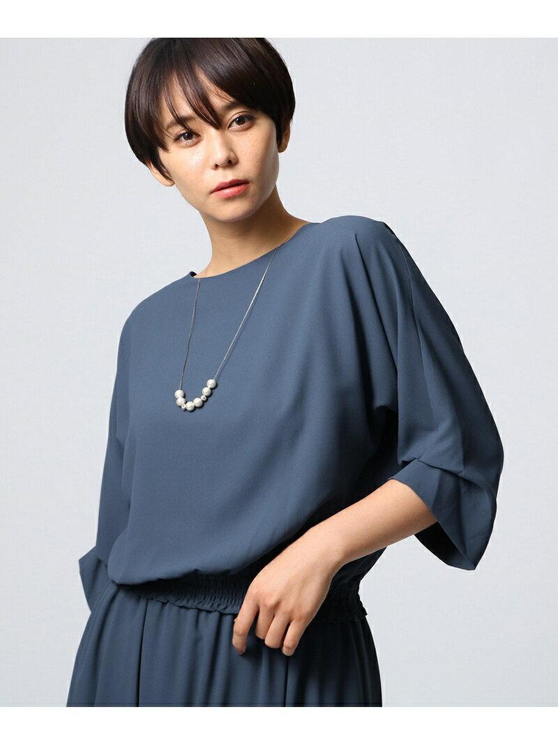 UNTITLED [L]ソフトジョーゼットシャツ アンタイトル シャツ/ブラウス【送料無料】