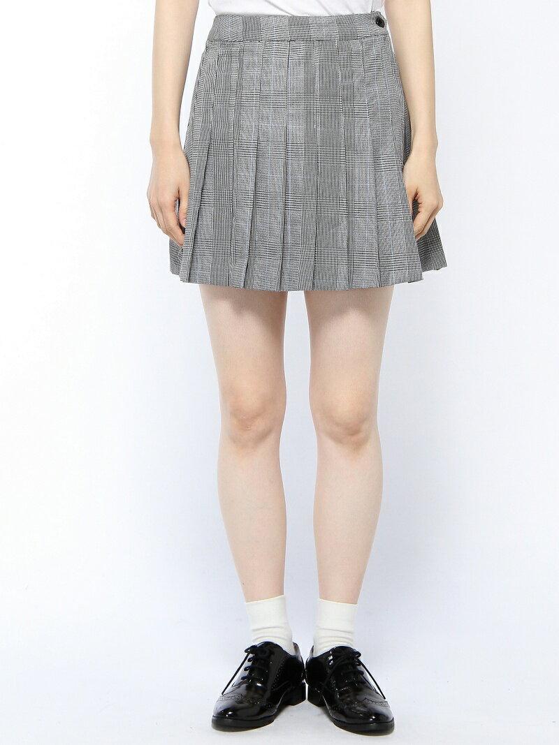 WEGO BROWNY STANDARD/(L)チェックプリーツミニスカート ウィゴー スカート