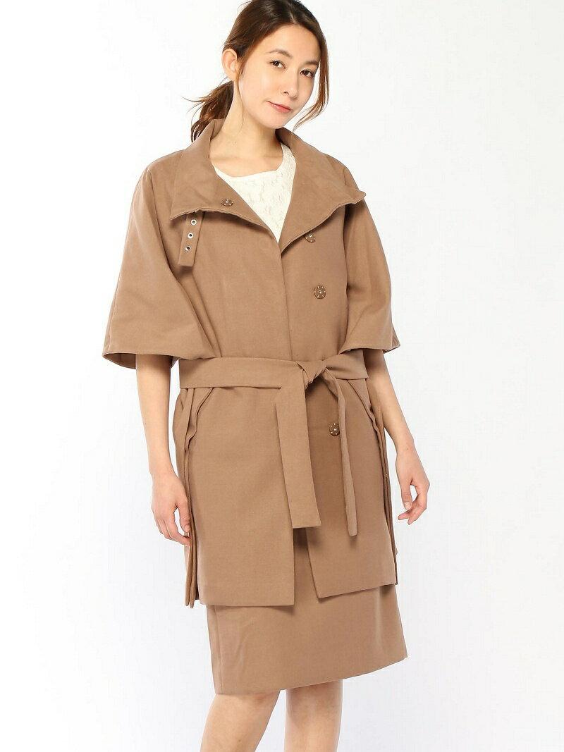 【SALE/43%OFF】Dress Lab Dress Lab/ドルマンコートスーツ クリーム コート/ジャケット【RBA_S】【RBA_E】【送料無料】